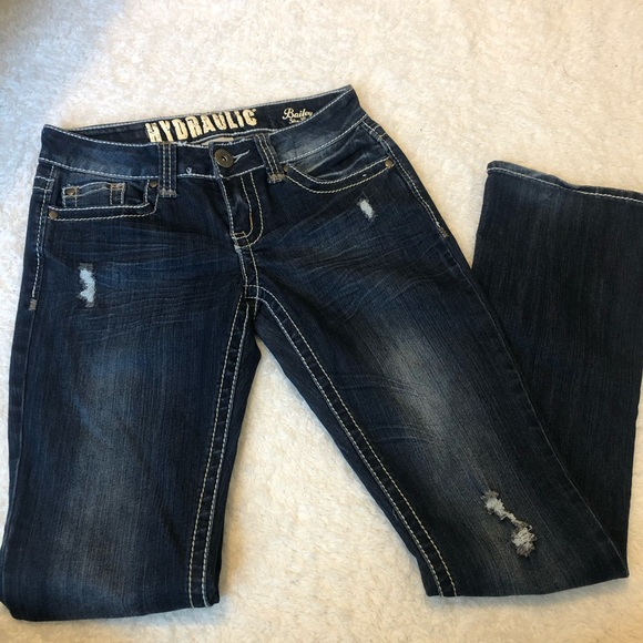 Hydraulic Denim - Hydraulic Boot Cut Jeans